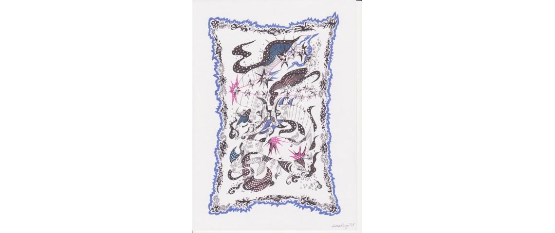 Zodiac - Pisces (Mystic shapes)